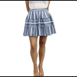J.O.A relished woman's pleated skirt